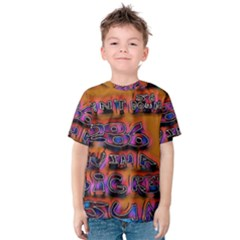 Words Kids  Cotton Tee