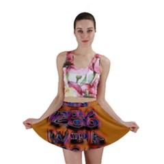 Words Mini Skirt