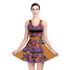 Words Reversible Skater Dress