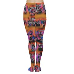 Words Women s Tights