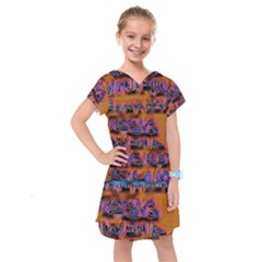 Words Kids  Drop Waist Dress
