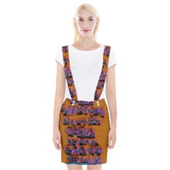 Words Braces Suspender Skirt
