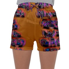 Words Sleepwear Shorts