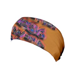 Words Yoga Headband