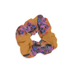 Words Velvet Scrunchie