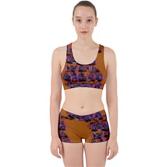 Words Work It Out Sports Bra Set