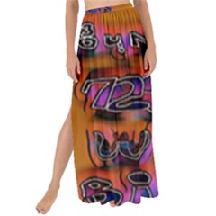 Words Maxi Chiffon Tie Up Sarong