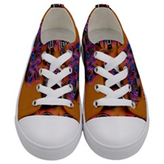 Words Kids  Low Top Canvas Sneakers