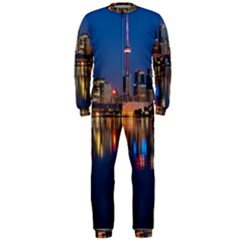 Buildings Can Cn Tower Canada Onepiece Jumpsuit (men)