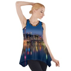 Buildings Can Cn Tower Canada Side Drop Tank Tunic