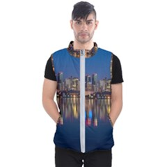 Buildings Can Cn Tower Canada Men s Puffer Vest