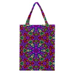 Seamless Tileable Pattern Design Classic Tote Bag