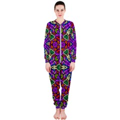 Seamless Tileable Pattern Design Onepiece Jumpsuit (ladies)
