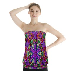 Seamless Tileable Pattern Design Strapless Top