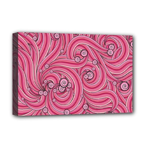 Pattern Doodle Design Drawing Deluxe Canvas 18  X 12