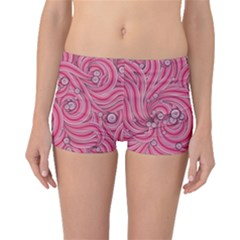 Pattern Doodle Design Drawing Boyleg Bikini Bottoms