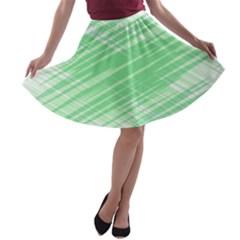Dirty Dirt Structure Texture A Line Skater Skirt