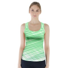 Dirty Dirt Structure Texture Racer Back Sports Top