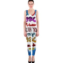Christian Christianity Religion Onepiece Catsuit