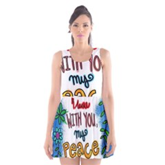 Christian Christianity Religion Scoop Neck Skater Dress