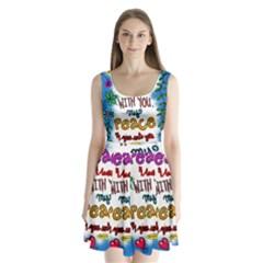 Christian Christianity Religion Split Back Mini Dress