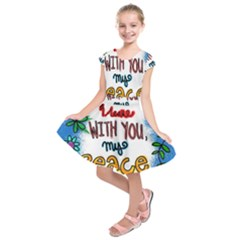 Christian Christianity Religion Kids  Short Sleeve Dress