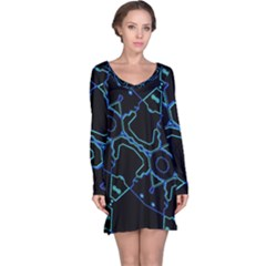 Warp Long Sleeve Nightdress