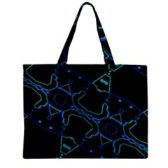 Warp Zipper Mini Tote Bag