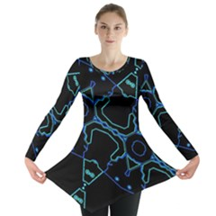 Warp Long Sleeve Tunic