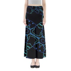Warp Full Length Maxi Skirt