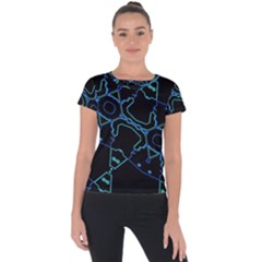 Warp Short Sleeve Sports Top