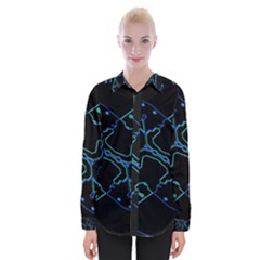 Warp Womens Long Sleeve Shirt