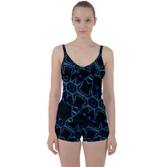Warp Tie Front Two Piece Tankini