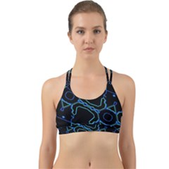 Warp Back Web Sports Bra
