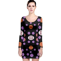 Planet Say Ten Long Sleeve Bodycon Dress