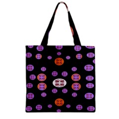 Planet Say Ten Zipper Grocery Tote Bag
