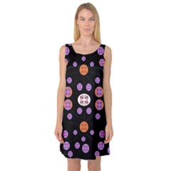 Planet Say Ten Sleeveless Satin Nightdress