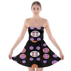 Planet Say Ten Strapless Bra Top Dress