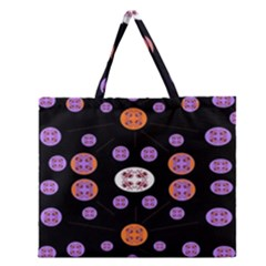 Planet Say Ten Zipper Large Tote Bag