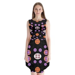 Planet Say Ten Sleeveless Chiffon Dress