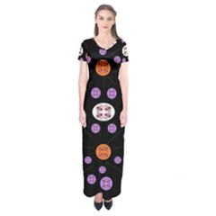 Planet Say Ten Short Sleeve Maxi Dress