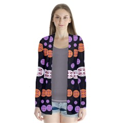 Planet Say Ten Drape Collar Cardigan
