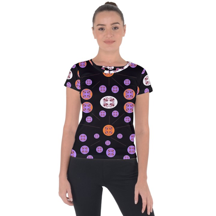 Planet Say Ten Short Sleeve Sports Top
