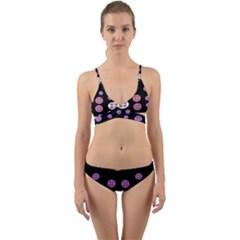 Planet Say Ten Wrap Around Bikini Set