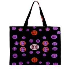 Planet Say Ten Zipper Medium Tote Bag