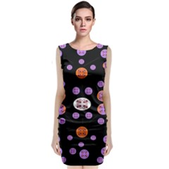 Planet Say Ten Sleeveless Velvet Midi Dress