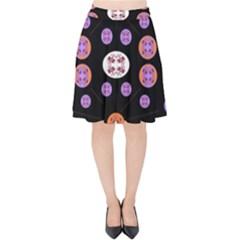 Planet Say Ten Velvet High Waist Skirt