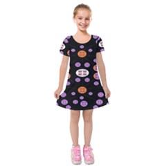 Planet Say Ten Kids  Short Sleeve Velvet Dress