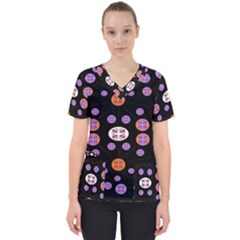Planet Say Ten Scrub Top