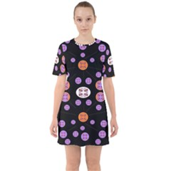 Planet Say Ten Sixties Short Sleeve Mini Dress